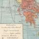 DÉTAILS 05   Carte de la Péninsule Balkanique - 1897