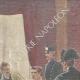 DÉTAILS 03 | Tentative d'assassinat du Roi par un anarchiste - Interrogatoire - Rome - 1897