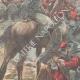 DETAILS 02   Greco-Turkish War - Garibaldi's soldiers between Lamia and Domokos - Greece - 1897