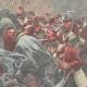 DETAILS 04   Greco-Turkish War - Garibaldi's soldiers between Lamia and Domokos - Greece - 1897