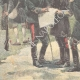 DETAILS 05   Greco-Turkish armistice - Officers of both armies set the neutral zone - 1897