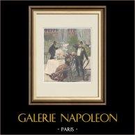 Tentative d'assassinat du conte Piccone Della Valle - Marseille - France - 1897