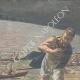 DÉTAILS 03 | Jeune fille noyée lors d'une excursion en canoë sur le Tibre - Italie - 1897