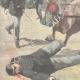 DÉTAILS 02 | Mort d'un garde par un cheval en fuite - Rome - 1897
