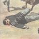 DÉTAILS 05 | Mort d'un garde par un cheval en fuite - Rome - 1897