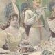 DÉTAILS 02 | Les Souverains d'Italie à Hambourg - Toast - Allemagne - 1897