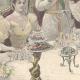 DÉTAILS 05 | Les Souverains d'Italie à Hambourg - Toast - Allemagne - 1897