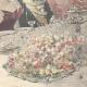 DÉTAILS 06 | Les Souverains d'Italie à Hambourg - Toast - Allemagne - 1897