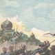DÉTAILS 01   Révolte aux Indes - Fort de Malakand - Tribus afghanes - 1897