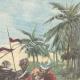 DÉTAILS 03   Révolte aux Indes - Fort de Malakand - Tribus afghanes - 1897