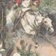 DÉTAILS 04   Révolte aux Indes - Fort de Malakand - Tribus afghanes - 1897
