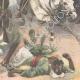 DÉTAILS 06   Révolte aux Indes - Fort de Malakand - Tribus afghanes - 1897