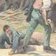 DÉTAILS 05 | Conflit entre travailleurs italiens et français à Gavet - 1897