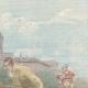 DETAILS 03   Heroism of an Italian officer - Ponta Delgada, Azores - Portugal - 1897