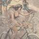 DÉTAILS 04   Nouvelle année - 1898 - Triomphe de la bicyclette