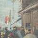 DETAILS 03 | Palermo celebrations - Arrival of prince and princess of Naples - Sicily - 1898