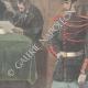 DETAILS 06   Dreyfus affair - Esterhazy - Council of war - Paris - 1898