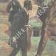 DÉTAILS 02 | Attaque de brigands en tenue de soirée - Cadix - Andalousie - Italie - 1898