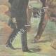 DÉTAILS 05 | Attaque de brigands en tenue de soirée - Cadix - Andalousie - Italie - 1898