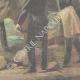 DÉTAILS 06 | Attaque de brigands en tenue de soirée - Cadix - Andalousie - Italie - 1898
