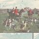 DÉTAILS 01 | Chasse au renard dans la Campagne Romaine - Latium - Italie - 1898
