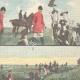 DÉTAILS 04 | Chasse au renard dans la Campagne Romaine - Latium - Italie - 1898