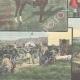 DÉTAILS 05 | Chasse au renard dans la Campagne Romaine - Latium - Italie - 1898