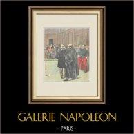 Processo di  Émile Zola - Affare Dreyfus - 1898