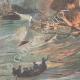 DÉTAILS 02 | Explosion à bord d'un croiseur nord-américain dans le port de La Havane - Cuba - 1898