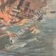 DÉTAILS 04 | Explosion à bord d'un croiseur nord-américain dans le port de La Havane - Cuba - 1898
