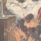 DETAILS 02 | A sick woman dies in a fire in Turin - Italy - 1898