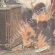 DETAILS 05 | A sick woman dies in a fire in Turin - Italy - 1898