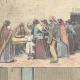 DETAILS 01   Beggars in Rome - Italy - XIXth Century