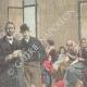 DETAILS 02   Beggars in Rome - Italy - XIXth Century