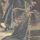 DETAILS 06   Catholic greek priest murdered by Turks in Volos - Greece - 1898