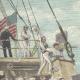 DÉTAILS 01 | Guerre hispano-américaine - Cuba - Canonnière américaine Nashville - 1898