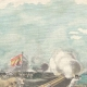DÉTAILS 01   Guerre hispano-américaine - Cuba - Bombardement du fort de Matanzas - 1898