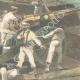 DÉTAILS 04   Guerre hispano-américaine - Cuba - Bombardement du fort de Matanzas - 1898