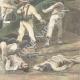 DÉTAILS 06   Guerre hispano-américaine - Cuba - Bombardement du fort de Matanzas - 1898