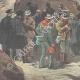 DÉTAILS 05   Arrestation de travailleurs italiens ayant franchi la frontière - Col du Simplon - Suisse