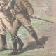 DÉTAILS 06   Guerre hispano-américaine - Journalistes américains faits prisonniers à Mariel - Cuba - 1898