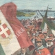 DETAILS 01 | Tribute to Giuseppe Garibaldi - Pilgrimage in Caprera - Italy - 1898