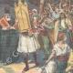 DETAILS 02 | Greek patriotism - Exodus of Greek peasants - Greek-Turkish border - 1898
