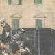 DÉTAILS 03   Enlèvement mystérieux d'une demoiselle à Palerme - Sicile - Italie - 1898