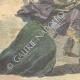 DÉTAILS 05   Enlèvement mystérieux d'une demoiselle à Palerme - Sicile - Italie - 1898