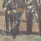 DÉTAILS 05 | Armée Italienne - Uniforme Militaire - Carabiniers du Roi - XIXème Siècle