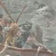 DETAILS 04   Shipwreck of the SS La Bourgogne - 1898