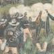 DÉTAILS 02 | Guerre hispano-américaine - Reddition de la flotte espagnole - Santiago de Cuba - 1898