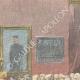 DETAILS 03   German Emperor Wilhelm II in front of Bismarck's coffin in Friedrichsruh - 1898