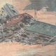 DÉTAILS 04   Accident ferroviaire à Pontedecimo - Gênes - Italie - 1898